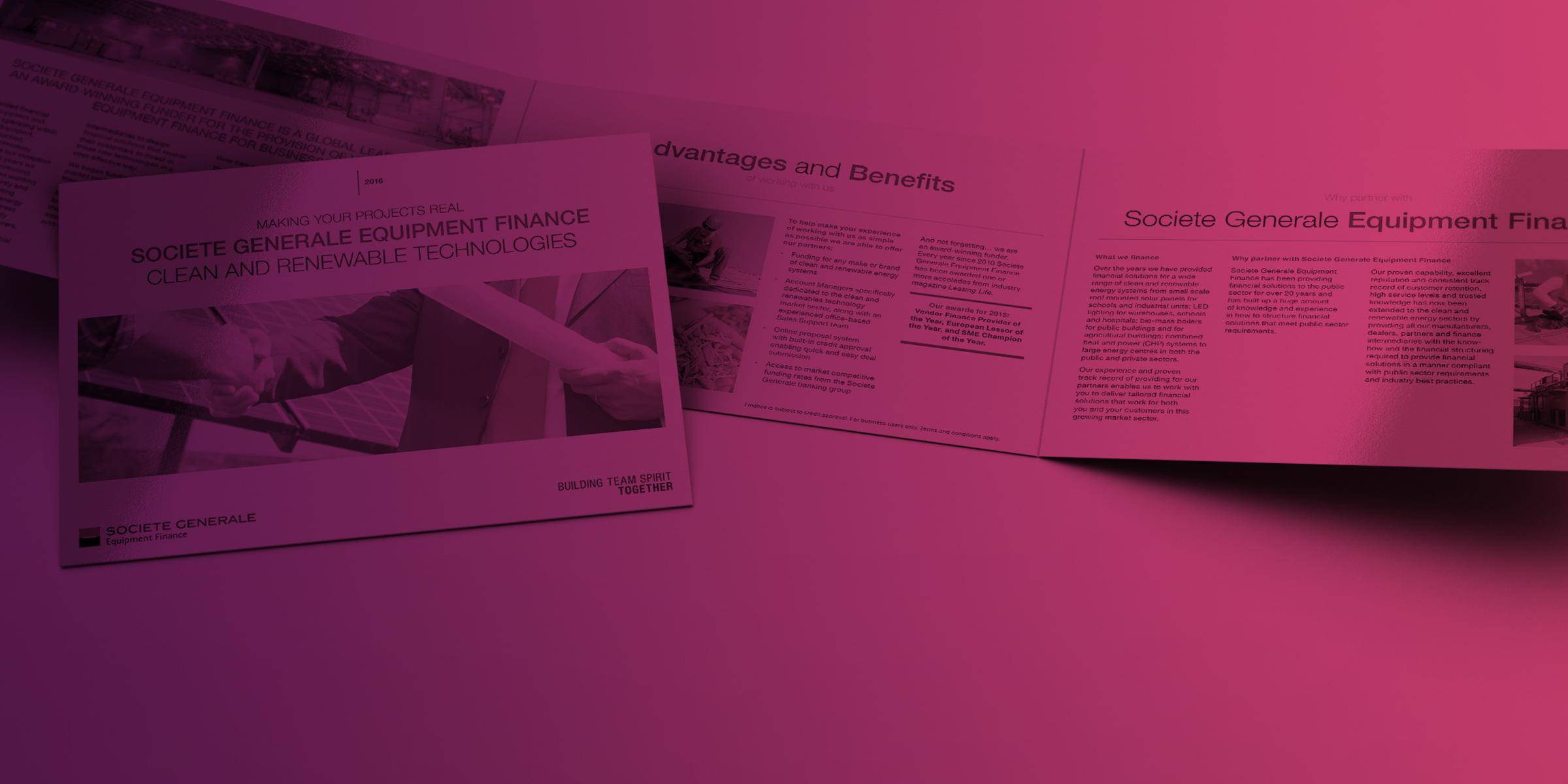 Societe Generale Equipment Finance: Brochure