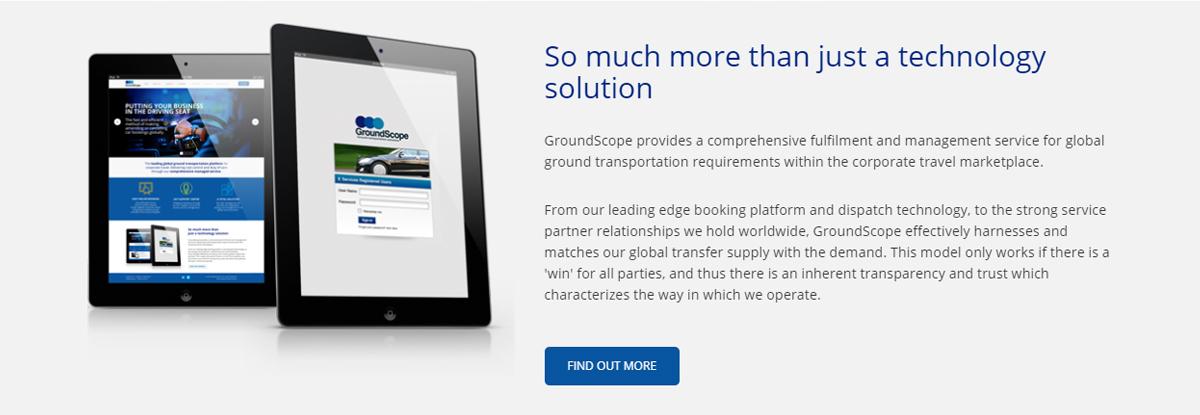 GroundScope: Homepage Refresh